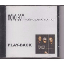 Cd Novo Som Vale A Pena Esperar Play Back Raro