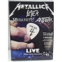 Metallica - Slayer - Megadeth - Anthrax Live 2 Dvd