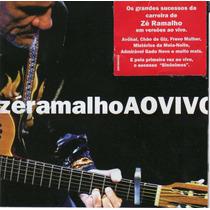 Cd Zé Ramalho - Ao Vivo