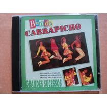 Banda Carrapicho- Cd Grandes Sucessos- 1996- Original Zerado