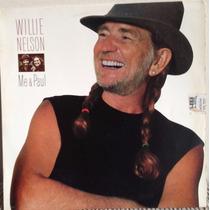 Lp Vinil - Willie Nelson Me & Paul. - Ano 1985