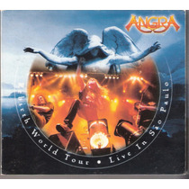 Cd Angra - Rebirth World Tour Live São Paulo ( Duplo 2002 )