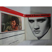 Lp Vinil-duplo-elvis Presley-elvis O Ídolo Imortal-rca-1982