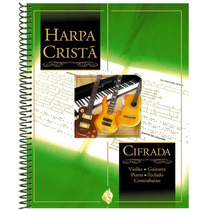 Harpa Cristã Cifrada Com Musica Cifras & Partituras - Grande