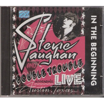 Cd Stevie Ray Vaughan - In The Beginning ( Sony )