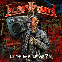 Cd Bloodbound In The Name Of Metal =import= Novo Lacrado