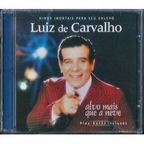 Cd Luiz De Carvalho - Alvo Mais Que A Neve (bônus Playback)