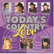 Cd - Today´s Country Love - Importado