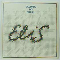Lp Elis Regina - Saudade Do Brasil - 1980 - Elektra