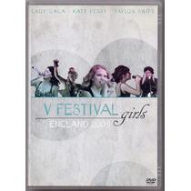 Dvd V Festival Girls - England 2009 - Novo***