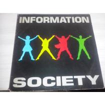 Lp Information Society-1988 Com Encarte