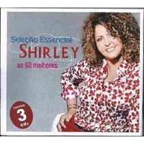 Cd Shirley Carvalhaes Triplo 60 Musicas As Melhores Vol 1