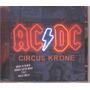 Ac/dc Circus Krone - 2 Cds Raro Lacrado Novo Original Vejam!