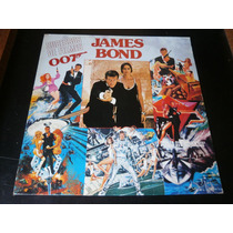Lp Sucesso De Filmes 007 James Bond, Disco Vinil, Ano 1987