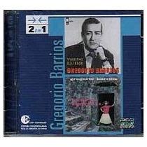 Cd Gregorio Barrios - 2 Em 1 (bolero) (usado / Ótimo)
