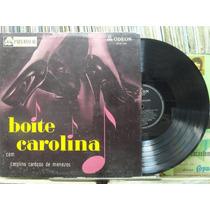 Carolina Cardoso Menezes Boite Carolina Lp Odeon 1957