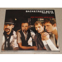 Backstreet Boys - Cd+dvd This Is Us Japan Tour Limited Ed