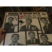 Lp - Miltinho - Poema Do Fim - Rge Anos 60 Oriiginal Raro