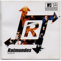 Cd Raimundos - Mtv Ao Vivo - Vol 2 = Mulher De Fases
