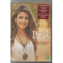 Paula Fernandes - Encontros Pelo Caminho - Dvd Novo