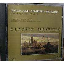 Cd Mozart / Classic Masters / Frete Gratis