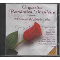 Cd Wave Orquestra Romântica Brasileira 20 Sucessos Roberto