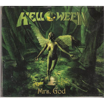 Cd Helloween - Mrs. God ( Single Digipack Enhanced Hellion