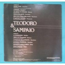 Lp Teodoro E Sampaio Passe Livre Barrerito 1988 Sertanejo