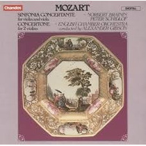 Cd Mozart Gibson - Sinfonia Concertante, Etc