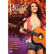 Dvd Show Paula Fernandes Ao Vivo (novo, Original E Lacrado)