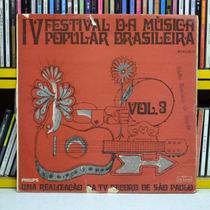 4 Festival Da Musica Popular Brasileira Mutantes Lp Edu Lobo