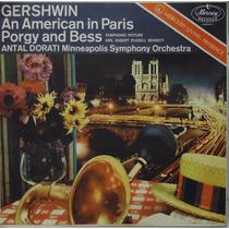 Lp Gershwin - Um Americano Em Paris - Porgy And Bess - Antal