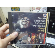 Cd Nacional - Sarah Vaughan & Oscar Peterson - Easy Living