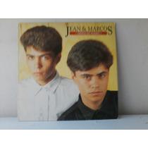 Lp Jean E Marcos - Orfaos Do Mundo - C/encarte