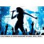 15 Dvds Musicas Karaokê Coletânea 2015 E Pop;mpb;sertanejo
