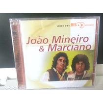João Mineiro & Marciano, Cd Série Bis Duplo, Emi-2001 Lacrad