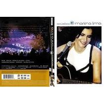 Marina Lima Acustico Dvd Lacrado Original