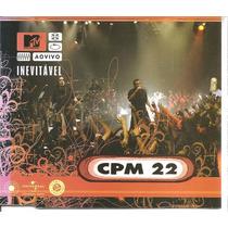 Cd Single - C P M 22 - Invevitável - Ao Vivo - 2005