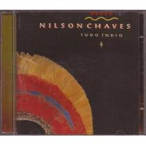 Cd Nilson Chaves - Tudo Indio - Cd Autografado