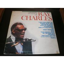 Lp Grandes Sucessos De Ray Charles, Disco Vinil, Ano 1986