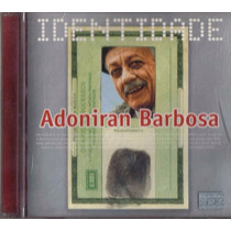 Cd Adoniran Barbosa Identidade Samba Do Arnesto Cd Novo