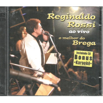 Cd - Reginaldo Rossi - Ao Vivo - Duplo - Lacrado