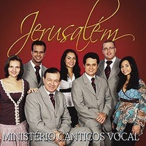 Cd Cânticos Vocal - Jerusalém / Bônus Playback.