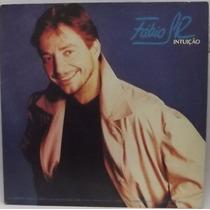 Lp Mpb: Fábio Jr. ( Júnior ) Intuição - 1991 - Frete Grátis