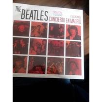 **the Beatles** **concierto En Madrid** Lp+cd**