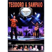 Teodoro E Sampaio Ao Vivo Convida - Dvd Novo