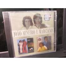 João Mineiro E Marciano, Cd 2em1 Os Inimitáveis, 1975 E 1978
