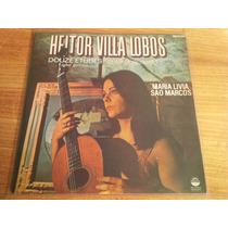 Maria Livia Sao Marcos Lp 12 Estudos Para Violao Villa Lobos