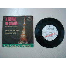 Disco Compacto Simples-luiz Carlos Paraná-samba Do Suicidio