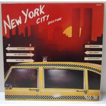 Lp New York City - Disco Funk - Vol.10 - Selo Top Tape- 1981